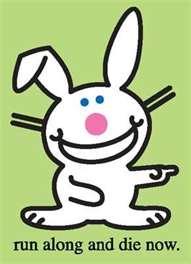 a happy bunnny